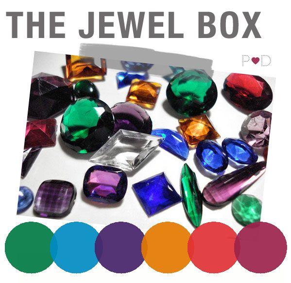 Jewel tones colour vibrant wedding inspiration wedding - What are jewel tones ...