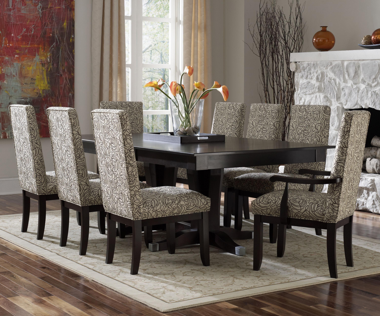 Custom Dining  Contemporary Customizable Rectangular Table Set Amusing Casual Dining Room Sets Inspiration Design