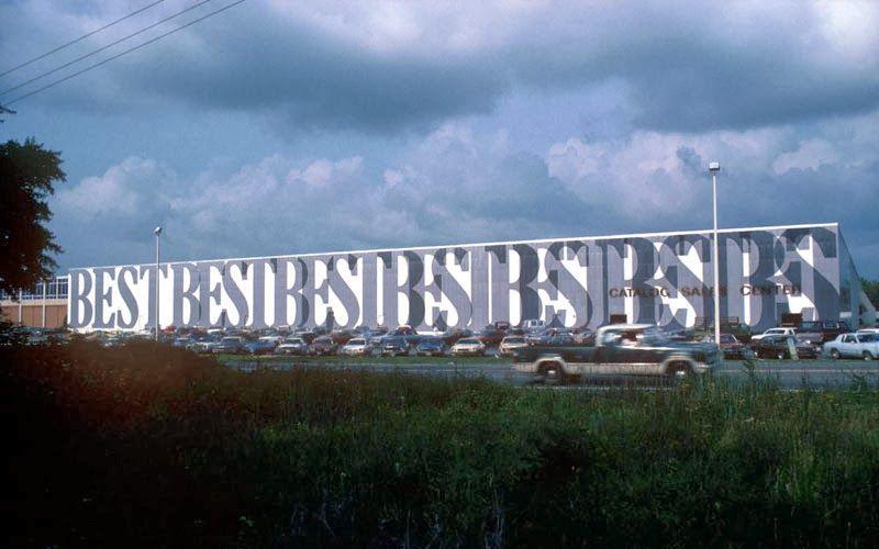 Arqueología del Futuro: 1978 BEST Products Anti-Sign Showroom [SITE Architects]