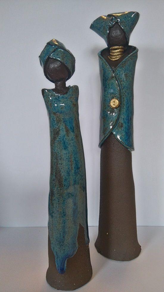 T pfern figuren afrikanerinnen t pfern in 2019 keramik figur und skulpturen - Ideen aus ton ...