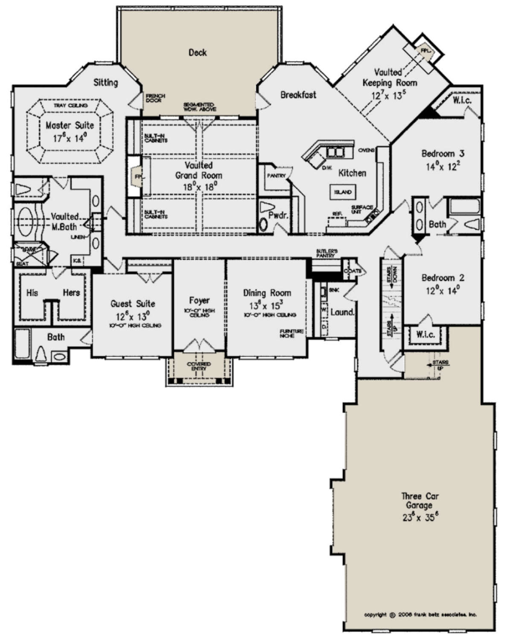 House Plan 8594 00258 Traditional Plan 3 206 Square Feet 4 5 Bedrooms 3 5 Bathrooms Floor Plans Craftsman House Plans How To Plan