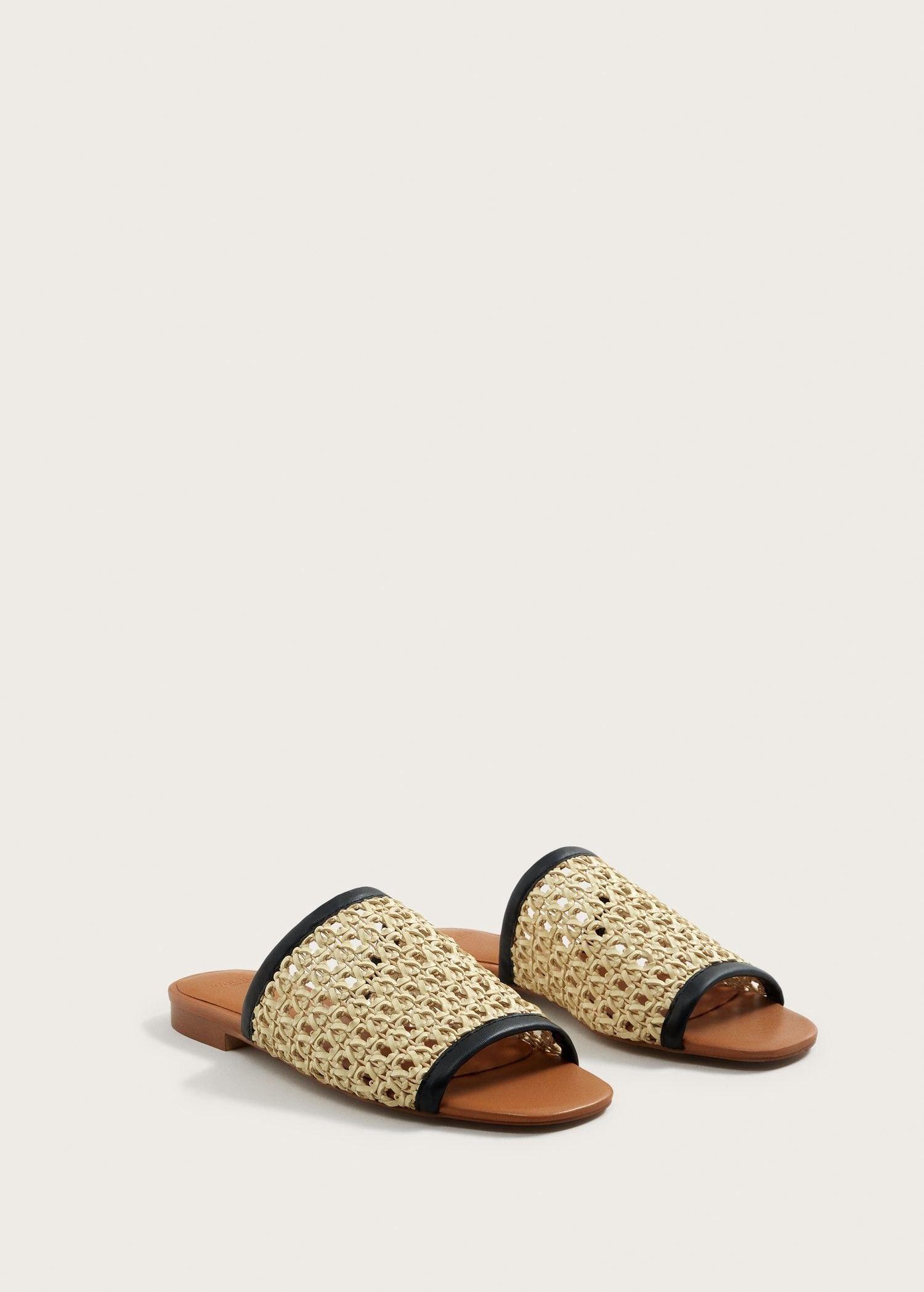 MANGO Braided sandal xpvhdKr