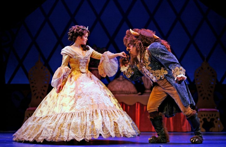 beauty-and-the-beast-4 | Costuming in 2019 | Broadway ...