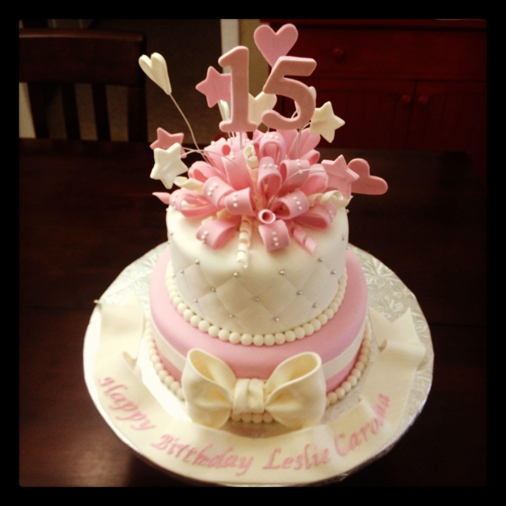 15th Birthday 15th Birthday Cakes 12th Birthday Cake Cake