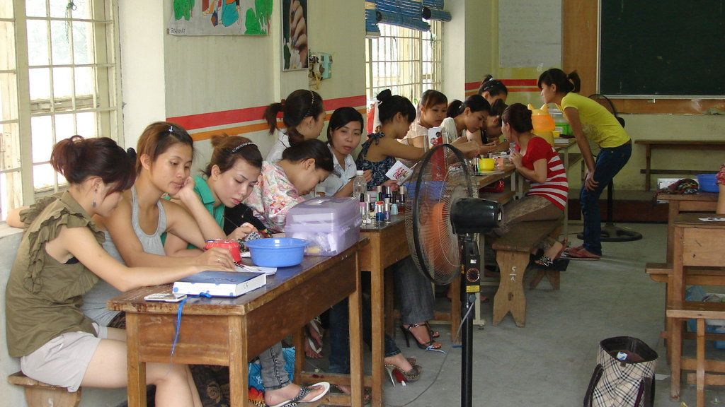 Lifechanging jobs for deprived vietnamese youth