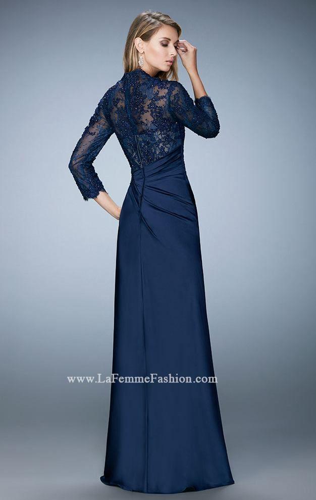 e7e2c430aa13 La Femme 21944 by La Femme Evening   Dresses in 2019   Grey evening ...