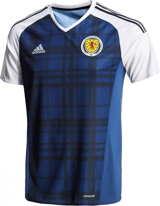 Scotland 2016 adidas Home Shirts