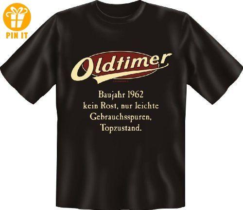 Funshirt Spaßshirt T-Shirt Oldtimer Baujahr 1962 - T-Shirts mit Spruch |  Lustige