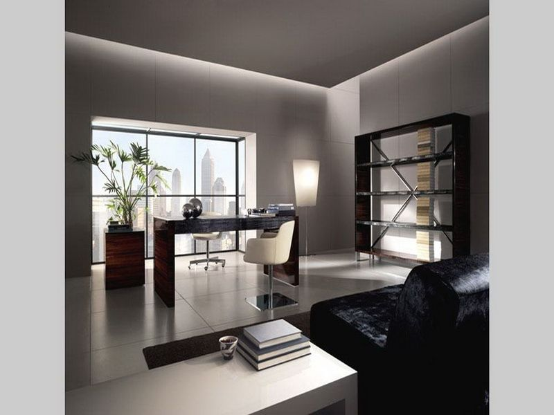 Awe Inspiring Modern Contemporary Interior Den Office Design Ideas Aod Largest Home Design Picture Inspirations Pitcheantrous
