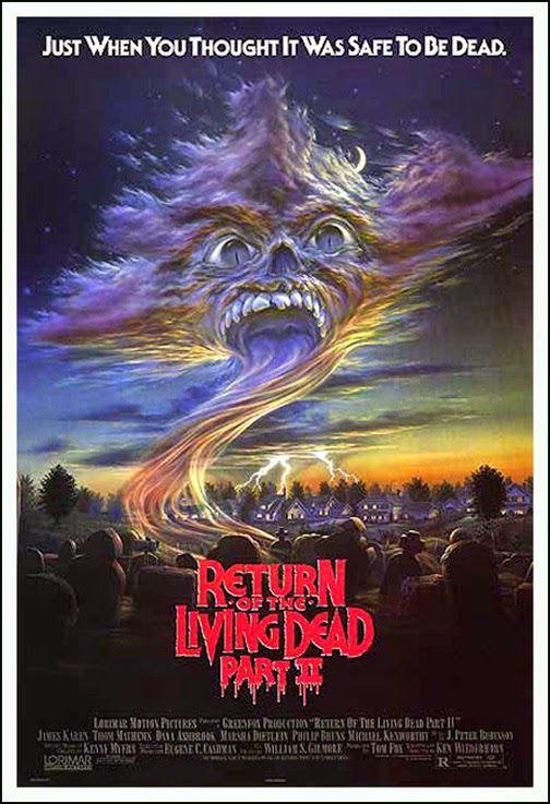 El Regreso De Los Muertos Vivientes 2 1988 Español Y Online Películas Clásicas De Terror Cine De Terror Peliculas De Terror