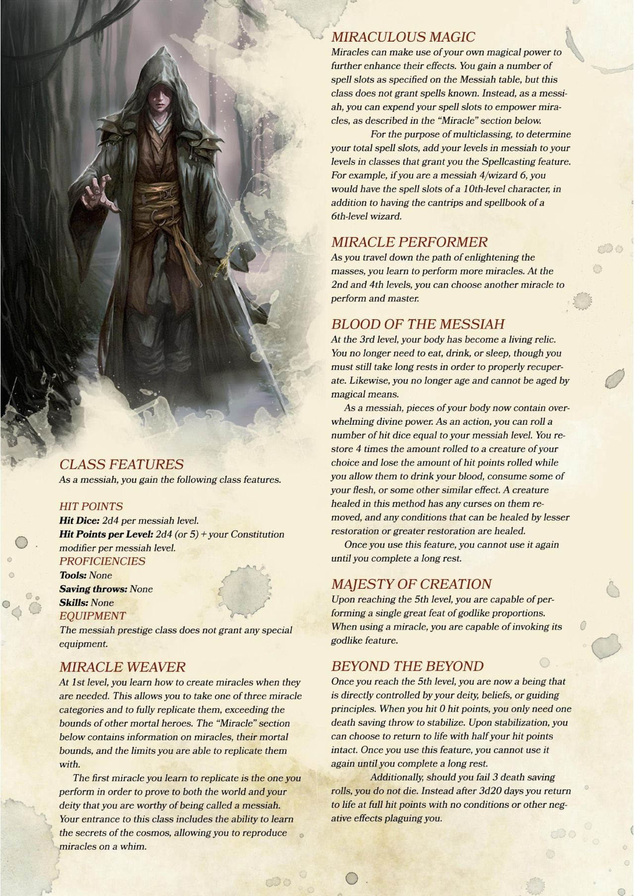 Dnd 5e Homebrew Fae Race Poundtown00 Awesome - Year of Clean