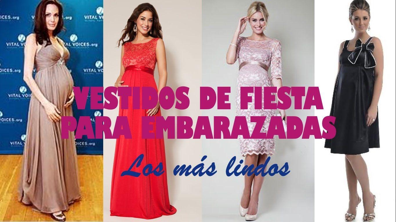 Outfits-Vestidos de Fiesta para Embarazadas | Videos belleza y moda ...