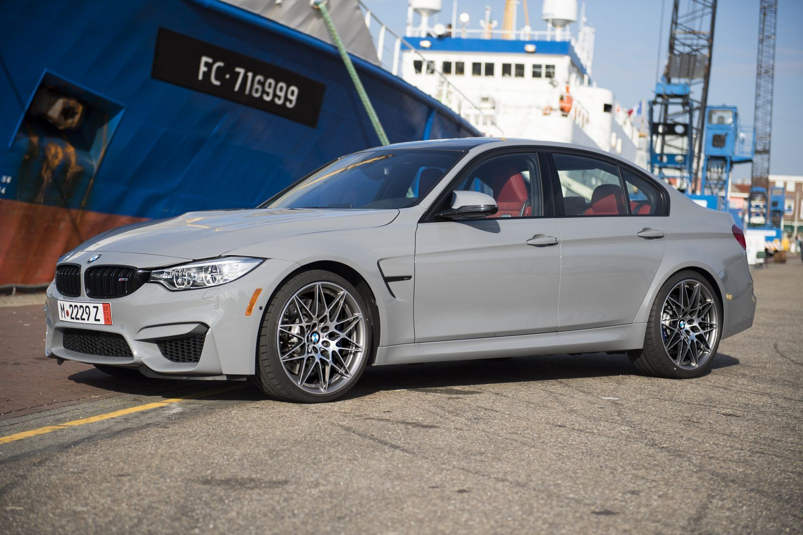 Nardo Grey Bmw M3 Competition Package Is Audi S Worst Nightmare Carscoops Bmw Bmw M3 Nardo Grey