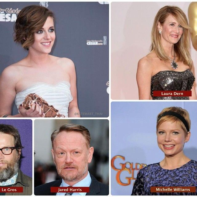 The Cast of the new film of Kristen Stewart