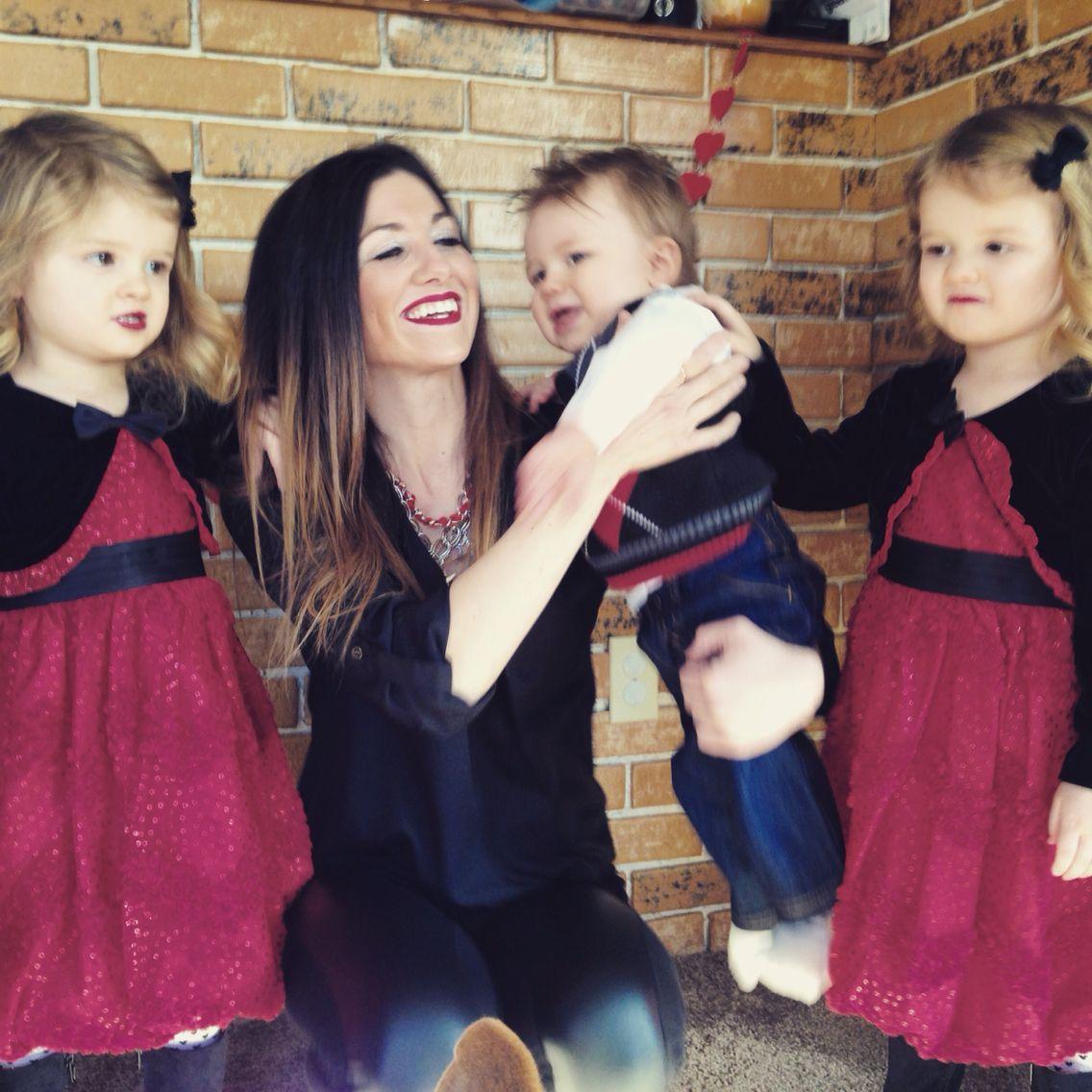 Valentineus day raising iowa blog pinterest twin girls and babies