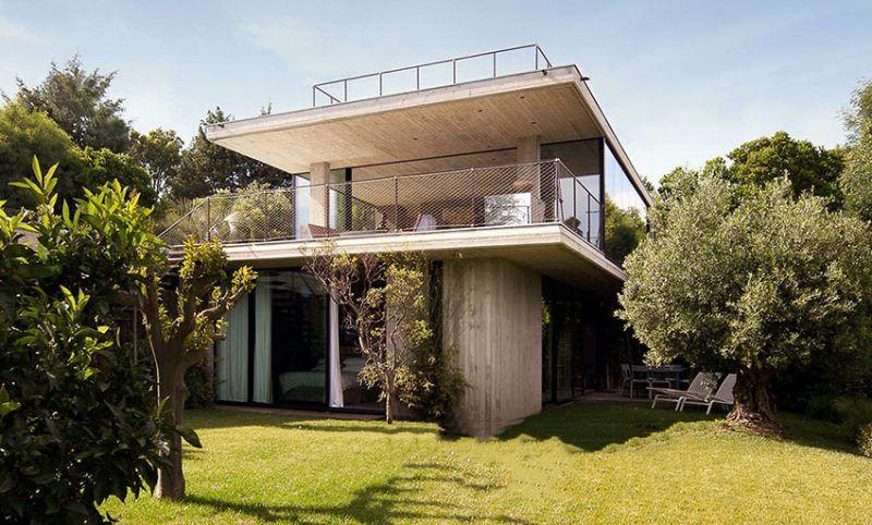 Modern Concrete House Design House Designs Exterior Concrete House Houses In France