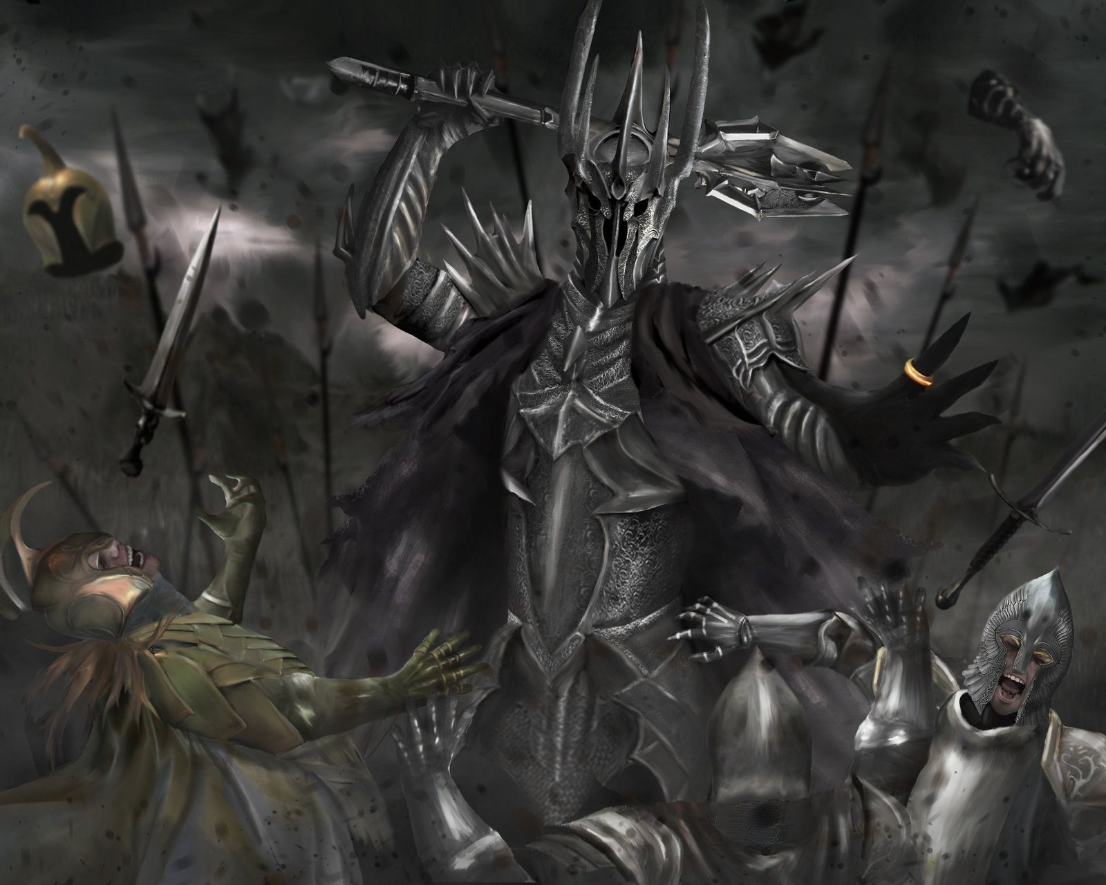 morgoth and sauron - Google Search | Tolkien\'s Realm | Pinterest