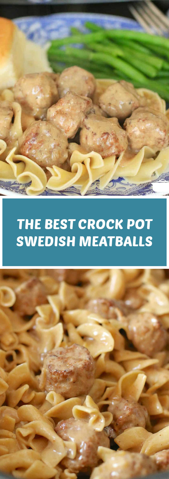 The Best Crock Pot Swedish Meatballs #crockpot #meatballs
