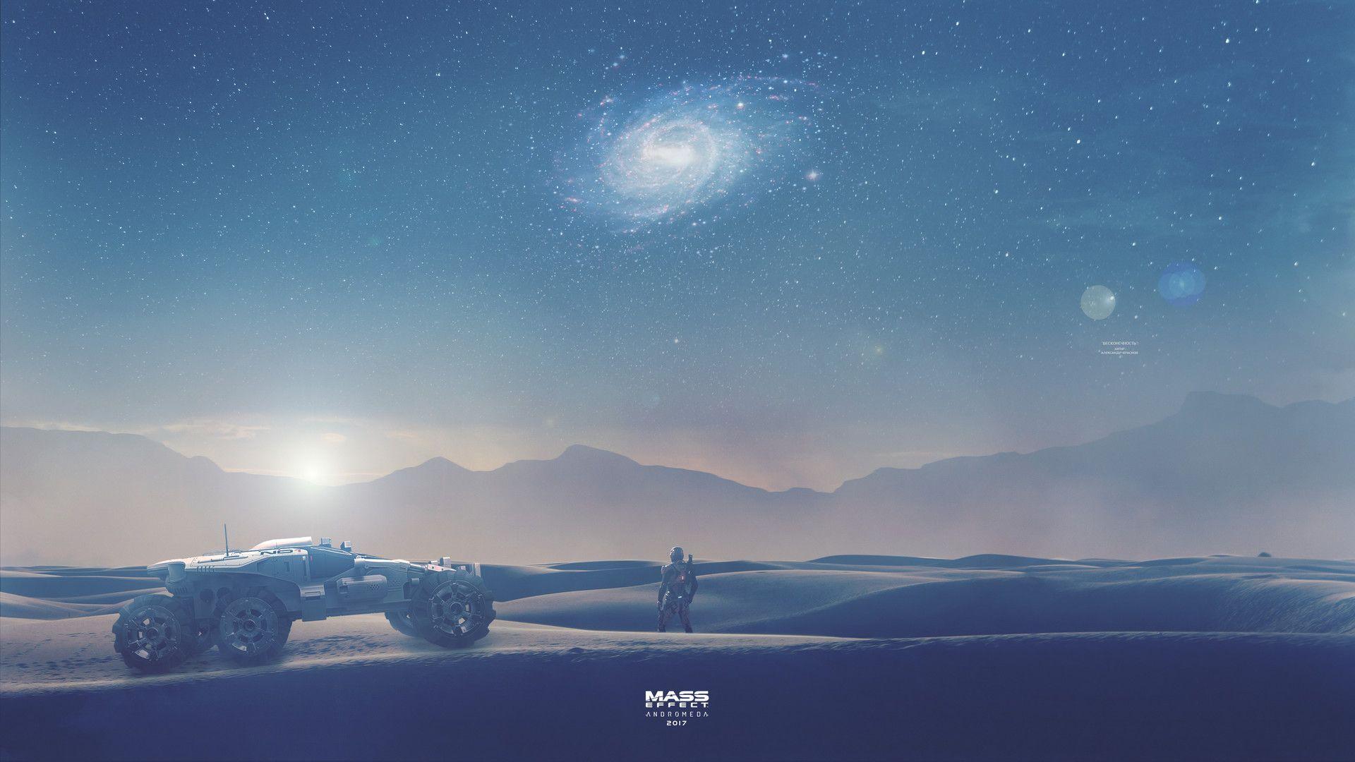 Artstation Infinity Mass Effect Andromeda Wallpaper 4k