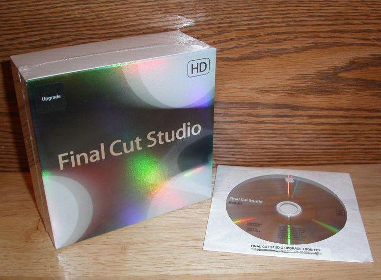 Brand new sealed Apple Final Cut Studio 3 HD - Full Retail