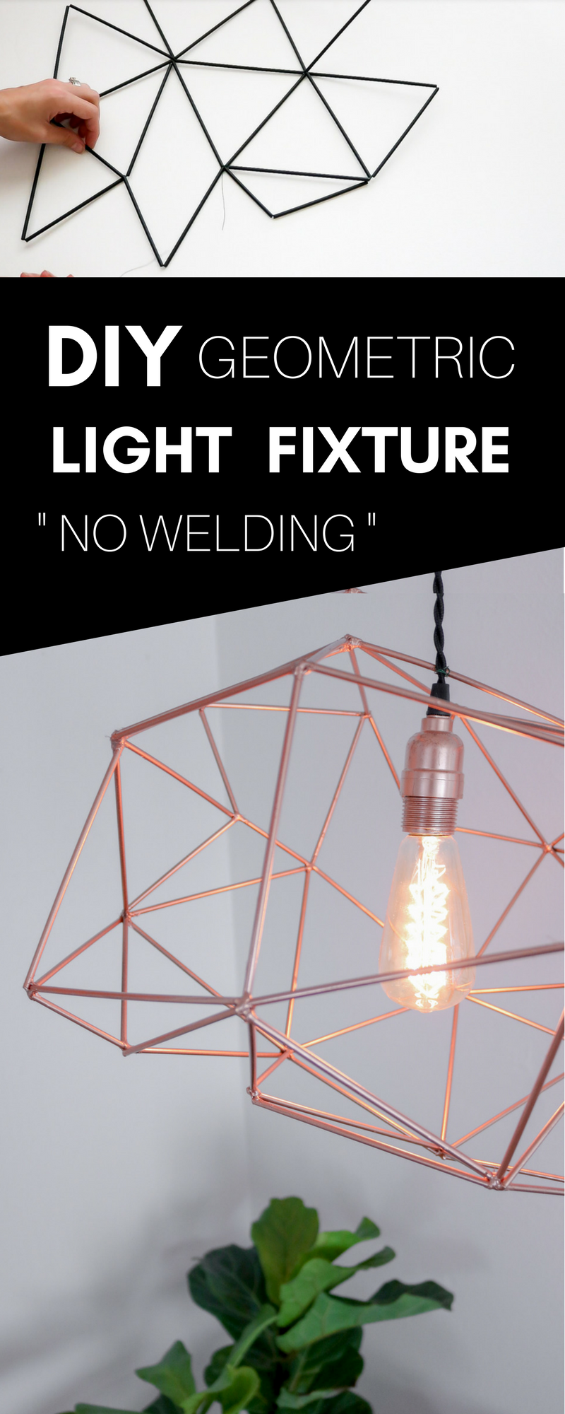 make your own pendant light. Follow 7 Easy Steps To Make Your Own Himmeli Pendant Light. No Welding Required. Light I