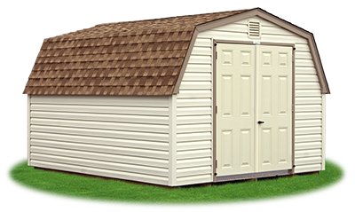 10 X 12 Heavy Duty Vinyl Mini Barn Mini Barn Barn Structures