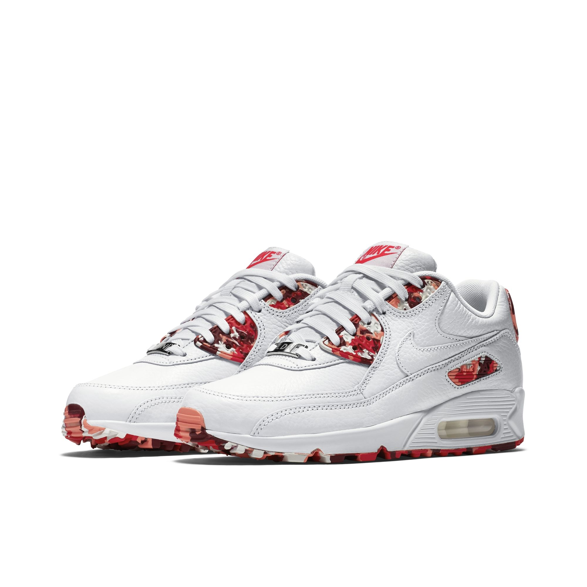 Nike Air Max 90 Chaussures Floral Beige Rose