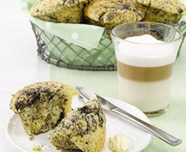 Zitronen-Mohn-Muffin