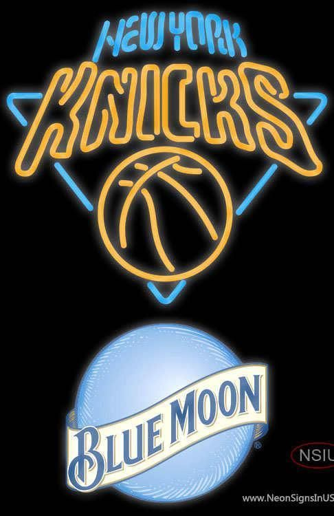 Blue Moon New York Knicks Nba Non Sign Neon Signs New York Knicks Neon