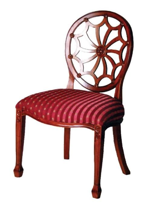Antique Reproduction Queen Anne dining chair; handmade mahogany Queen Anne  style dining chair with web carving detail, frame only available in ten  colour ... - Antique Reproduction Queen Anne Dining Chair; Handmade Mahogany