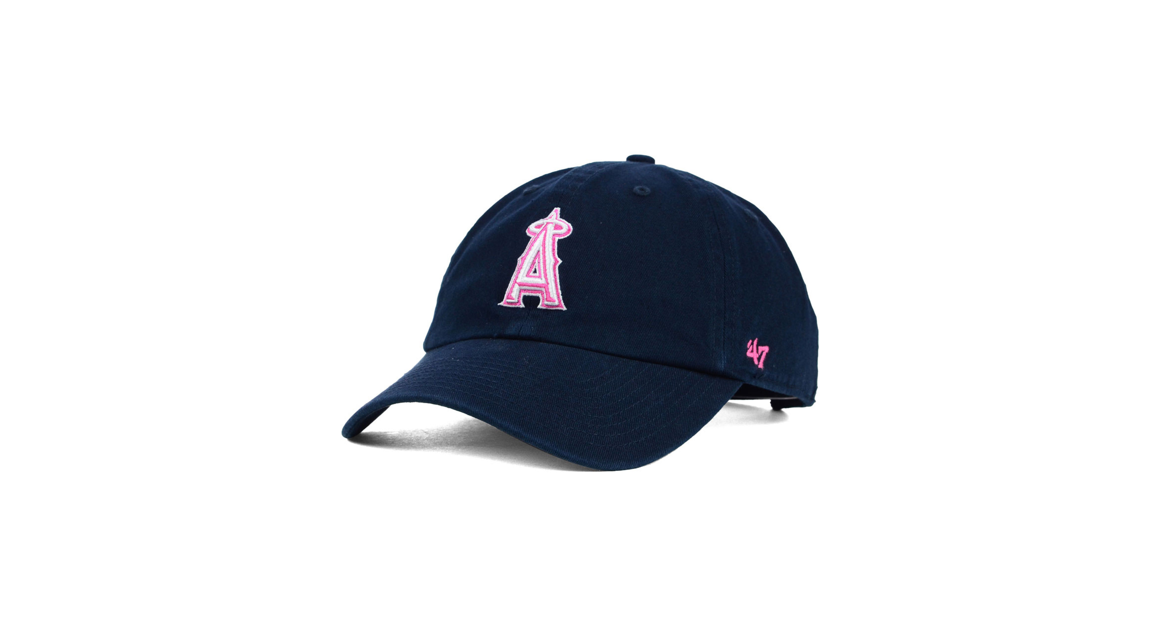 lowest discount retail prices a few days away 47 Brand Women's Los Angeles Angels of Anaheim Clean Up Cap ...