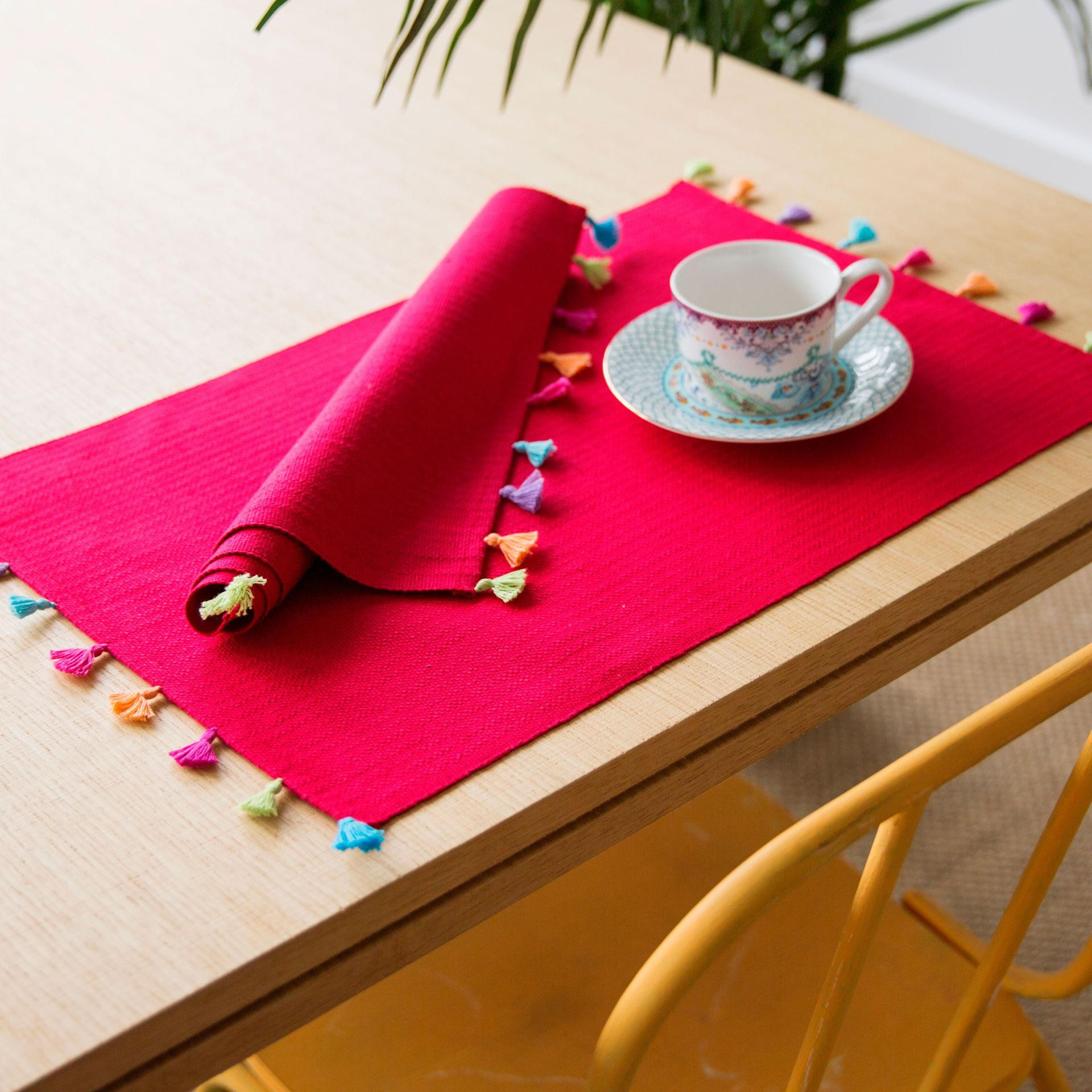 Cotton embroidered placemat set of 2 last week new - Zara home es ...