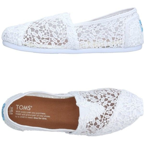 Toms Loafer ($79) ❤ liked on Polyvore featuring shoes, loafers, white, white loafers, loafers moccasins, toms shoes, toms footwear and toms loafers