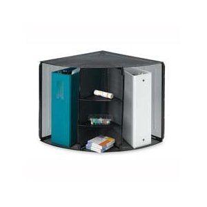 "Corner Mesh Organizer, 5 Compartments, 14""x19-1/2""x13-2/8"", BK"