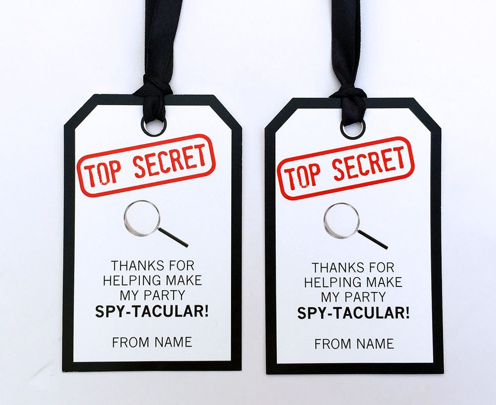 Spy party printables invitations decorations spy party spy and spy kids party filmwisefo Image collections