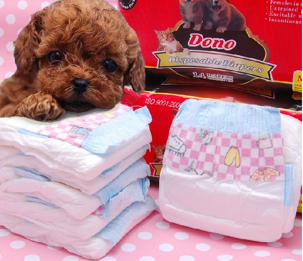Dog Pants Dono Disposable Sanitary Pet Puppy Paper Diaper Pet
