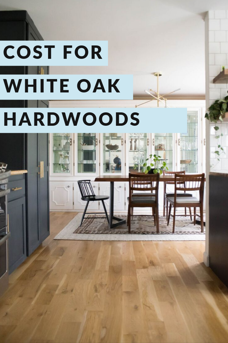 White Oak Hardwood Flooring Flooring cost, Oak hardwood
