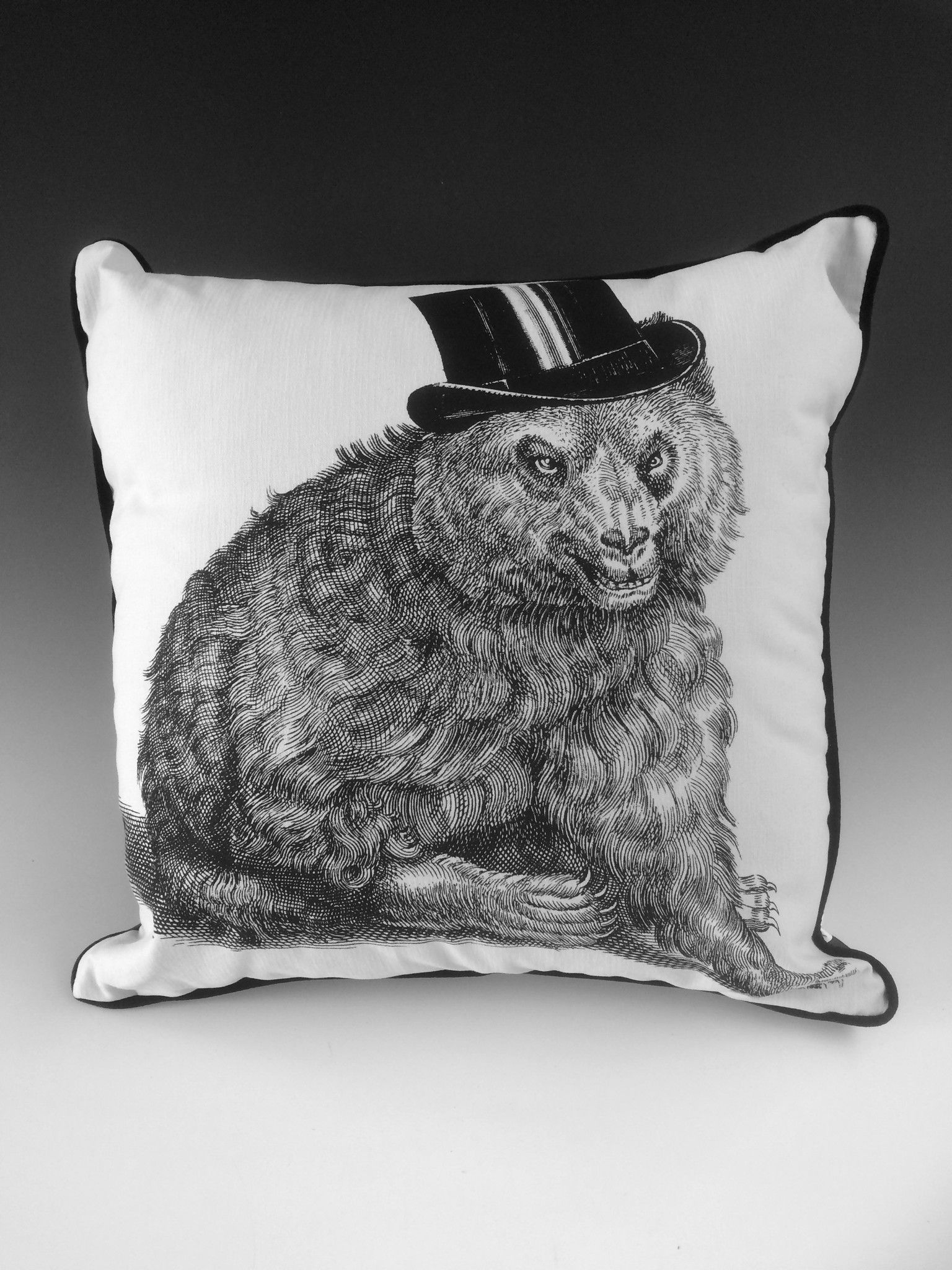 Grin and Bear It Pillow