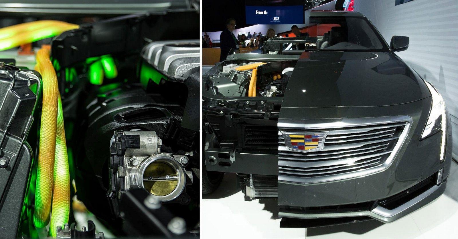2017 Cadillac Ct6 Plug In Hybrid Makes North American Debut