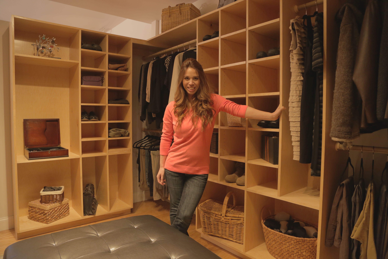 Master Closet from HGTV Saving Alaska Master closet