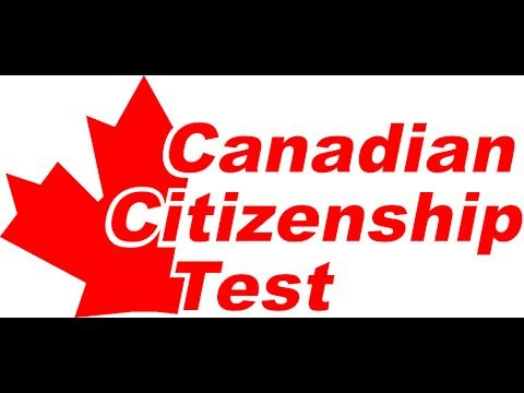 Canadian Citizenship Naturalization Test 2014,2015,2016 (100 Questions)