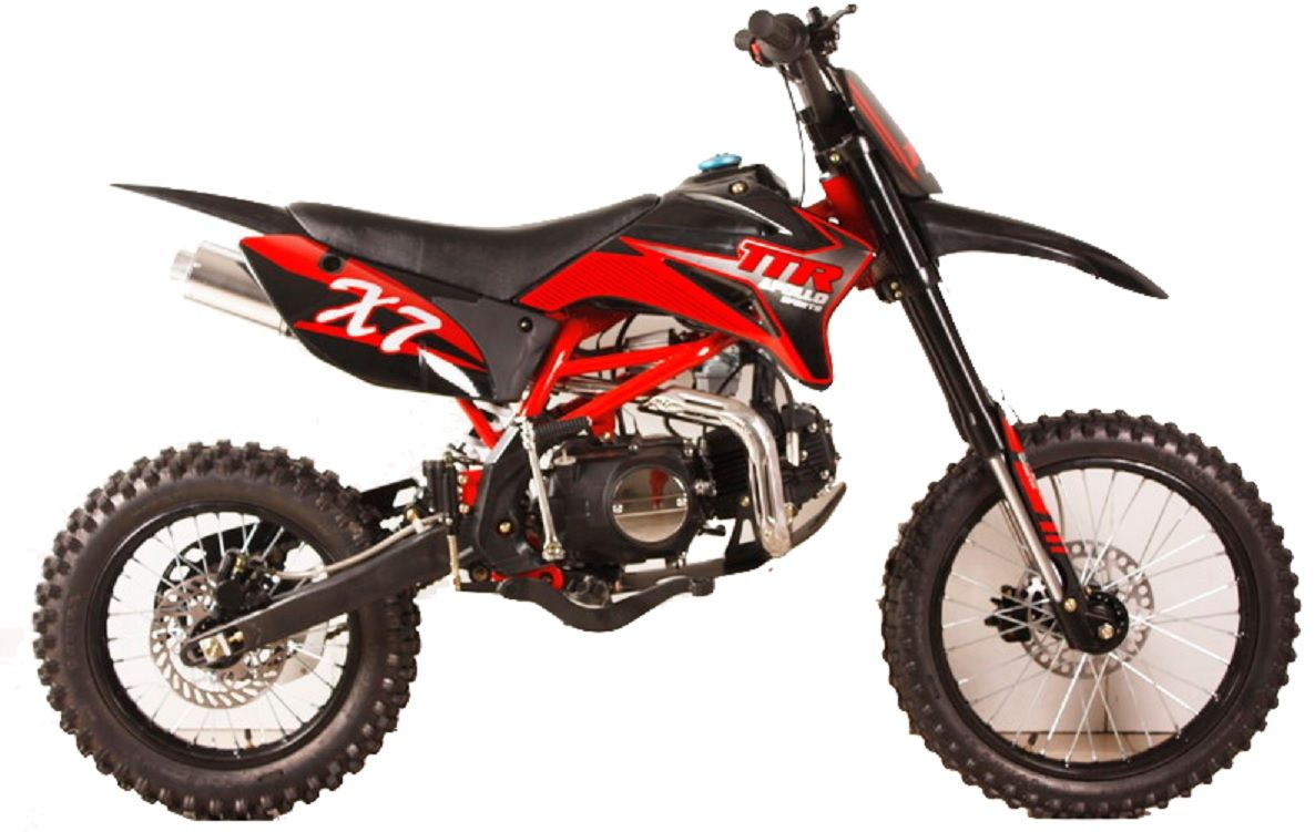 Apollo Dirt Bike 125cc Over Size With 17 Tire Twin Spar Frame Inverted Forks Apollo Dirt Bike Motocross Pit Bike