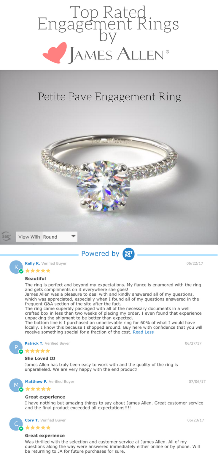 Is James Allen The Best Place To Buy A Ring Online James Allen