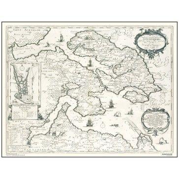 Sonderborg Als ar 1649 oude kaarten van Denemarken Pinterest