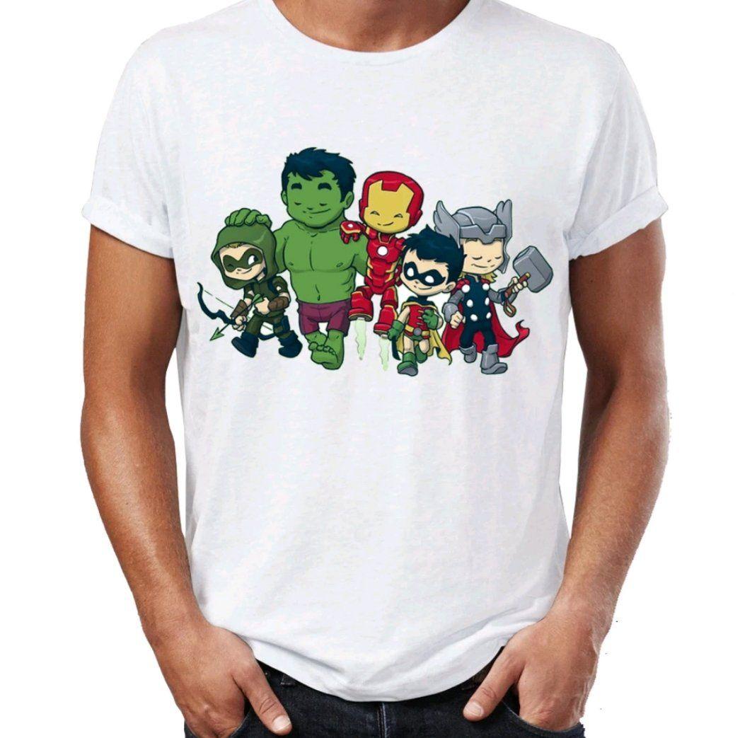 HAWKEYE Marvel Avengers EndGame T Shirt Black Size S-3XL