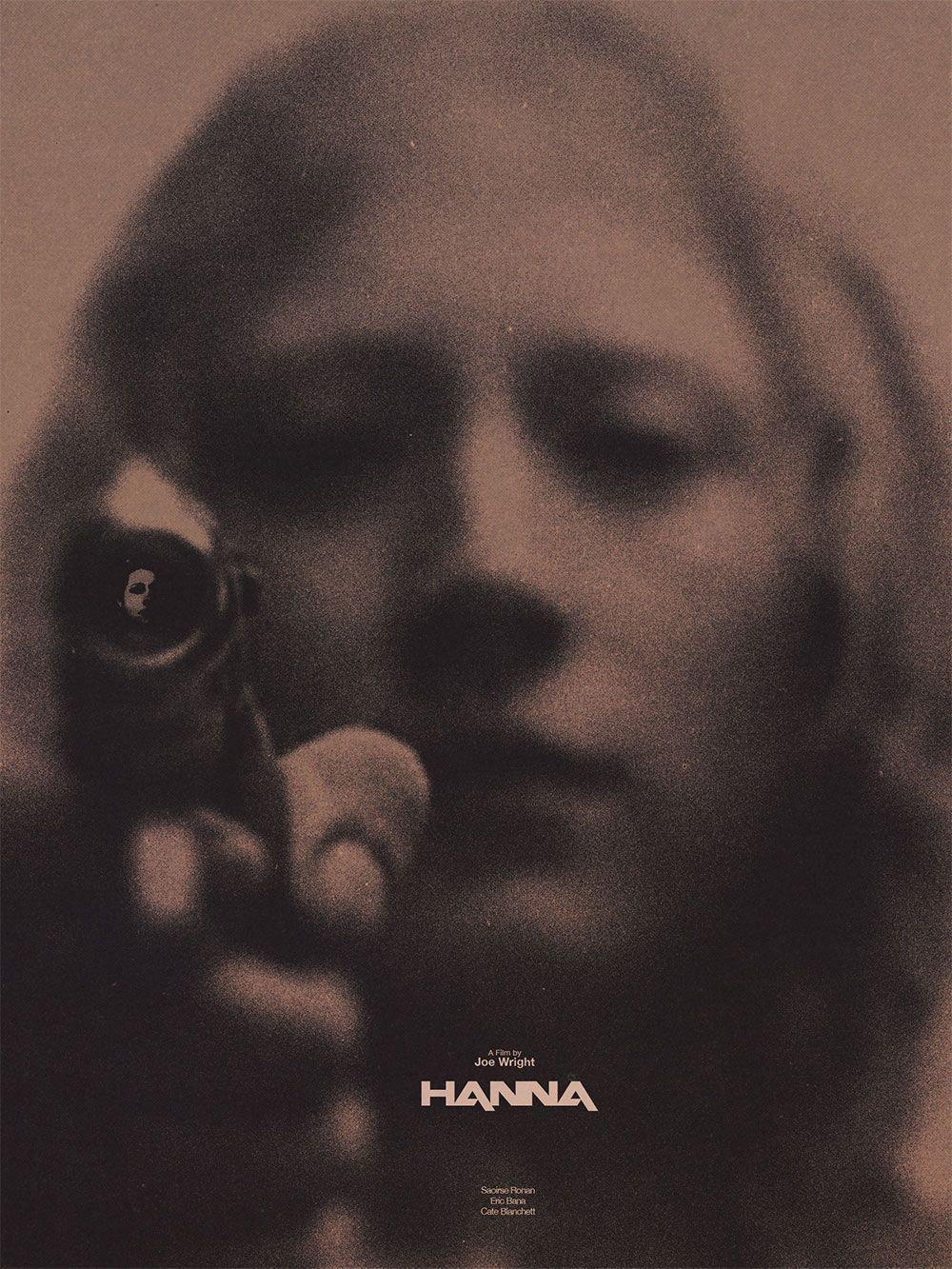 Joe Wright;Hanna; Film Poster #filmposterdesign Joe Wright;Hanna; Film Poster #filmposterdesign