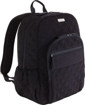 6769e2c01495 Vera Bradley Campus Backpack Black - via eBags.com!