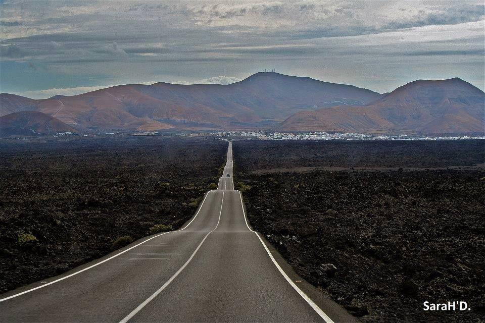 Imagen de Sarah Denis en Timanfaya, Tinajo y Yaiza, Lanzarote.