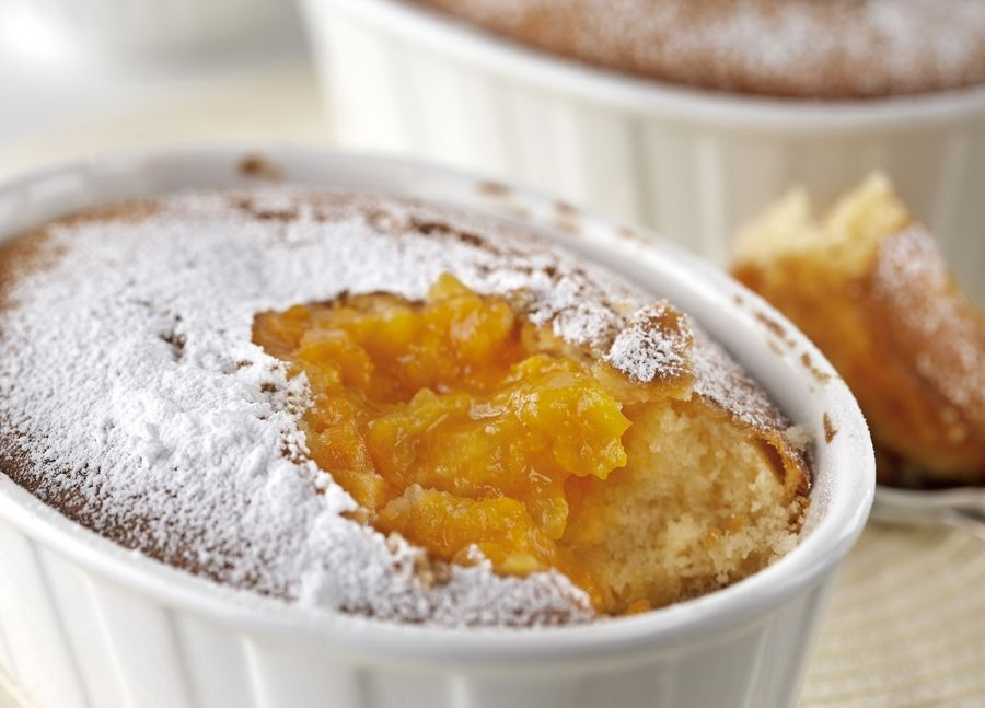 Easy Apricot Pudding Cakes Food Dessert Apricots