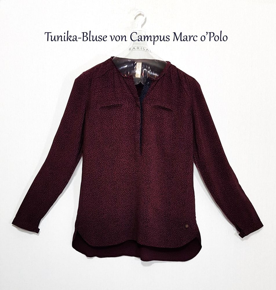 CAMPUS 72 BY Marc O Polo Bluse Gr M DE 38 40 Hemdbluse Langarm Business  Damen 13c894f12a